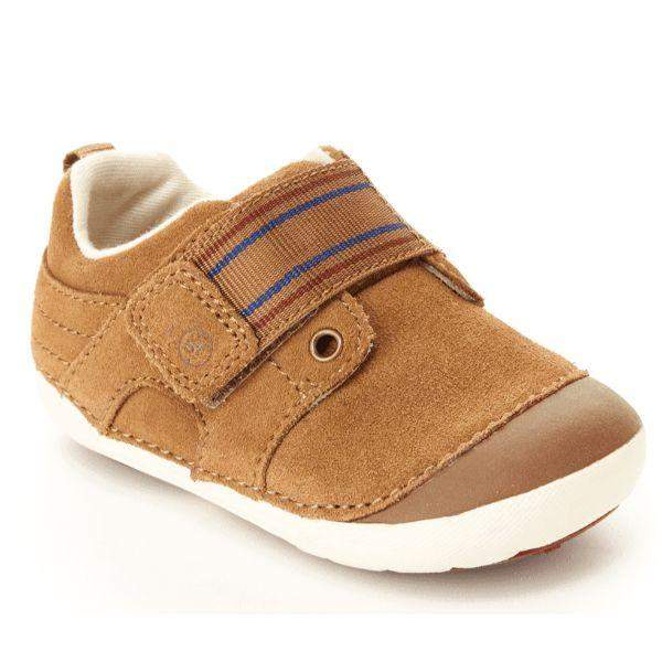 Boys First Walking Shoes - Stride Rite Cameron Boys Infant/Toddler Shoes (Brown)