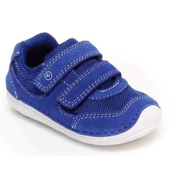 Boys First Walking Shoes - Stride Rite Mason Blue Infant/Toddler Shoes