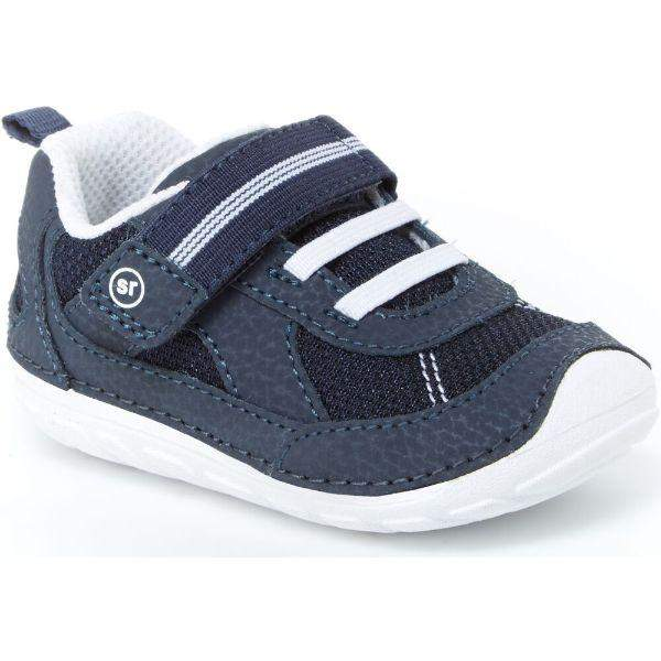 Boys First Walking Shoes - Stride Rite SM JAMIE/Navy/White/Infant/Toddler