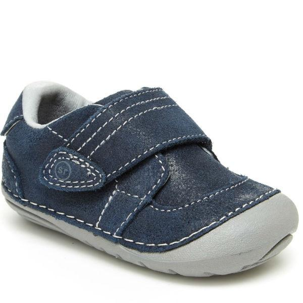 Boys First Walking Shoes - Stride Rite SM Kellen Boys Lightweight Leather Sneaker