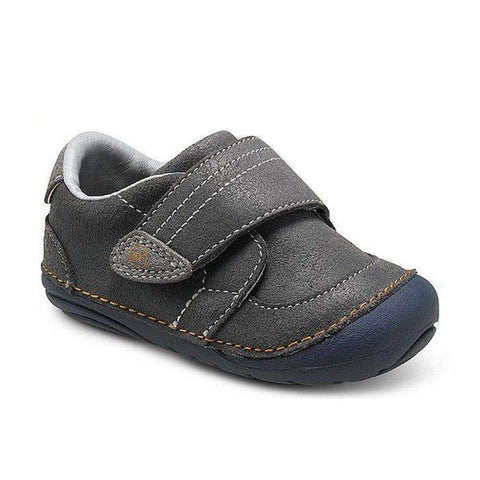 Boys First Walking Shoes - Stride Rite SM KELLEN GREY Infant/Toddler