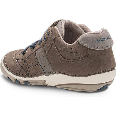 Boys First Walking Shoes - Stride Rite SRT SM ARTIE-TRUFFLE Boys Walking Shoes/ Infant / Toddler