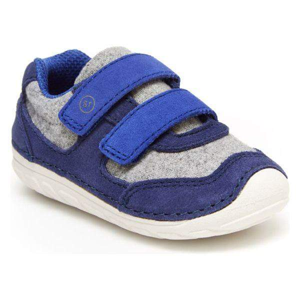 Boys First Walking Shoes - Stride Rite SRT SM MASON Navy / Infant / Toddler