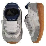 Boys First Walking Shoes - Stride Rite SRT SM Wyatt Stone / Infant / Toddler