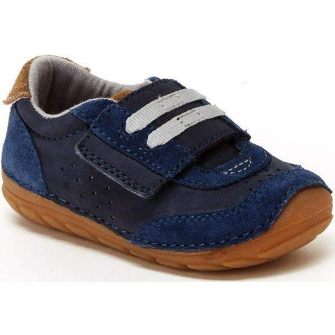Boys First Walking Shoes - Stride Rite SRT Wyatt Navy / Infant / Toddler