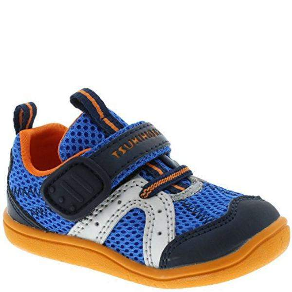 Boys First Walking Shoes - Tsukihoshi Baby 12 Marina / Infant/Toddler /Water Friendly