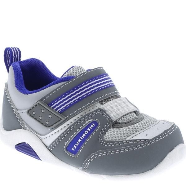 Boys First Walking Shoes - Tsukihoshi Baby Neko / Arch Support / Washable