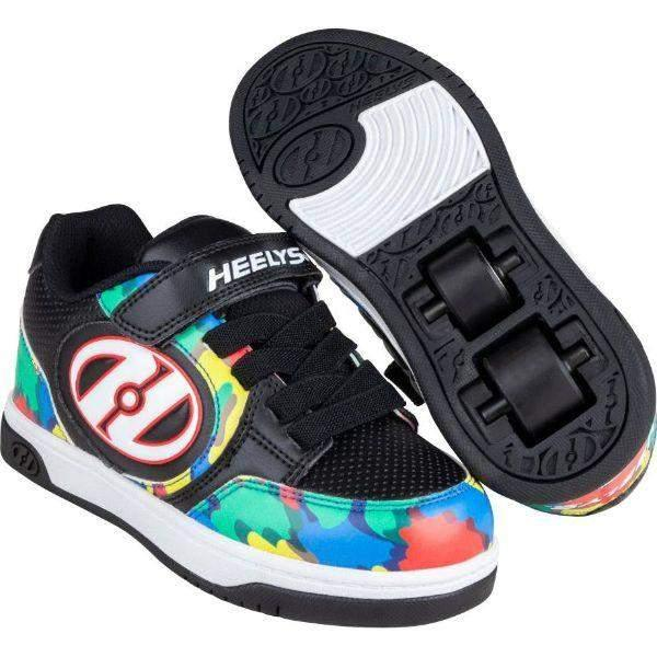 Boys Heelys - Heelys Boys DUAL UP X2 - Black/Multi/Paint Skate Shoes