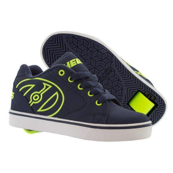 Heelys Boys Vopel Navy Yellow Skate Shoes
