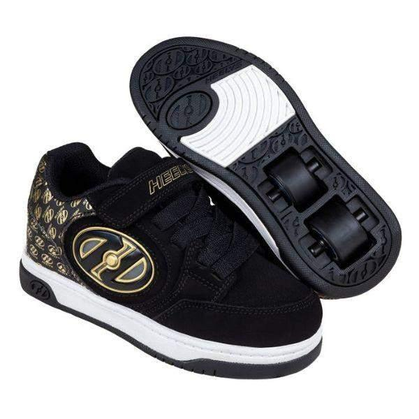Heelys Plus  X2 Black Gold / Light-Up - ShoeKid Canada