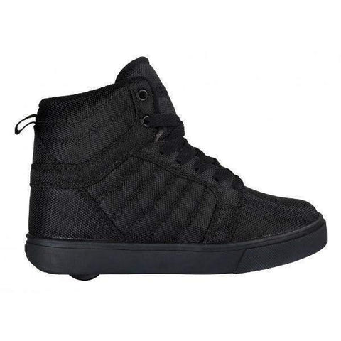 ShoeKid.ca:Heelys Uptown - Black/Ballistic Nylon Skate Shoes