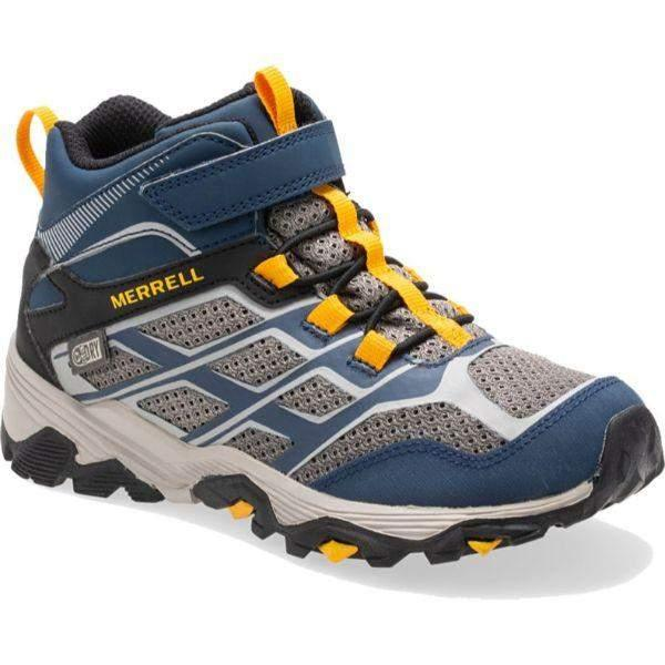 Merrell Kids Moab 100% Waterproof  Hiking Boots - ShoeKid Canada