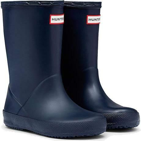 Hunter Kids First Classic Navy Rainboots / Infant / Toddler - shoekid.ca