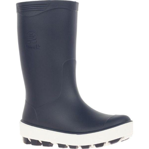 Kamik Boys Rain Boots Navy / Little Kids / Big Kids - ShoeKid Canada