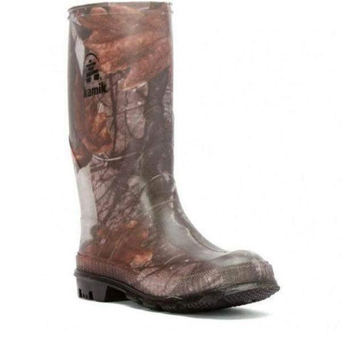 Boys Rain Boots - Kamik Stomp / Big Kids / Rain Boots / Youth / Camo