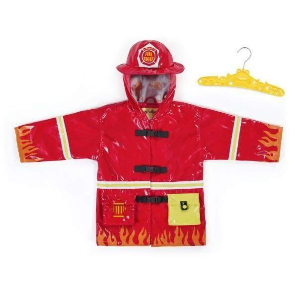 Kidorable Kid's Fireman Rain Coat / Toddler / Little Kids - ShoeKid.ca