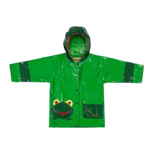Boys Rain Coats - Kidorable Kid's Frog Rain Coat / Toddler / Little Kids