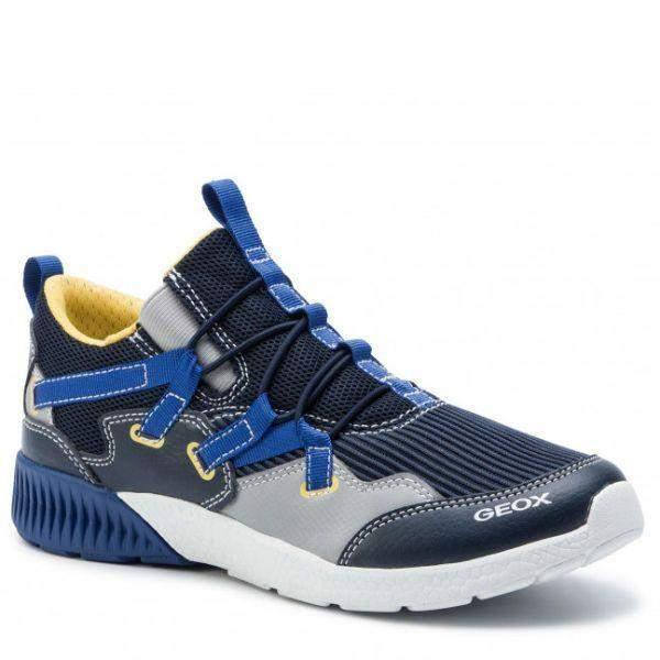 Boys Running Shoes - Geox Boys SVETH Boys Running Shoes