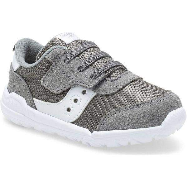 Saucony JAZZ RIFF Toddler Boys Running Shoes Gray - ShoeKid.ca