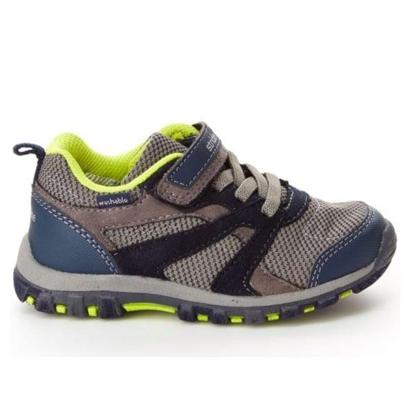 Boys Running Shoes - Stride Rite Collin Navy Boys Toddler Running Shoes