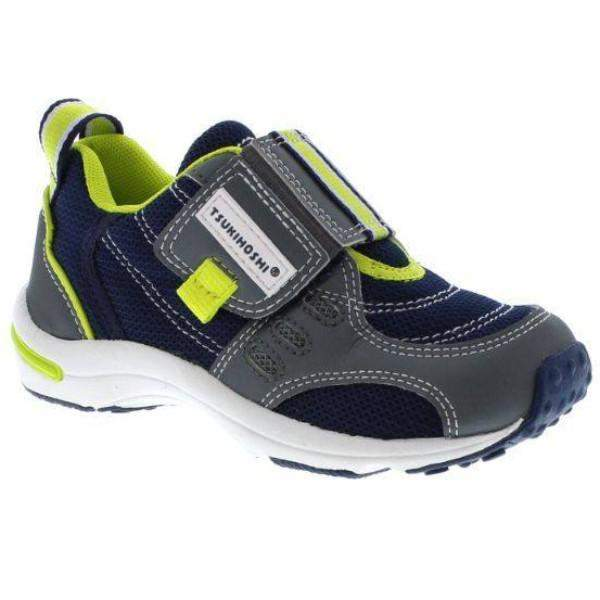 ShoeKid.ca:Tsukihoshi CHILD01 EURO (Toddler/Little Kid) Machine Washable - Gray Navy
