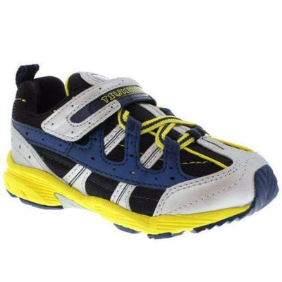 ShoeKid.ca:Tsukihoshi CHILD20 SPEED (Toddler/Little Kid) Machine Washable - Silver Yellow