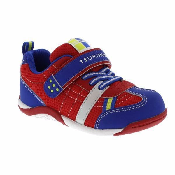 Tsukihoshi CHILD21 KAZ /Little Kid/ Machine Washable /Red Royal - ShoeKid Canada