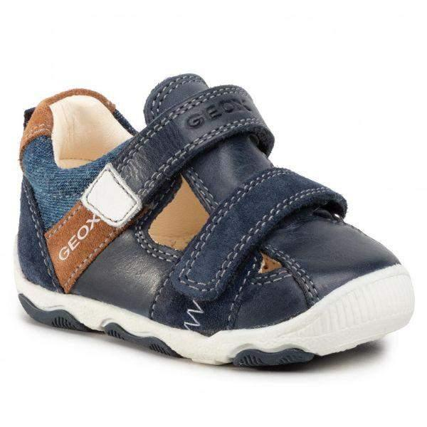 Boys Sandals - Geox Baby Boys Balu Toddler Leather Sandals
