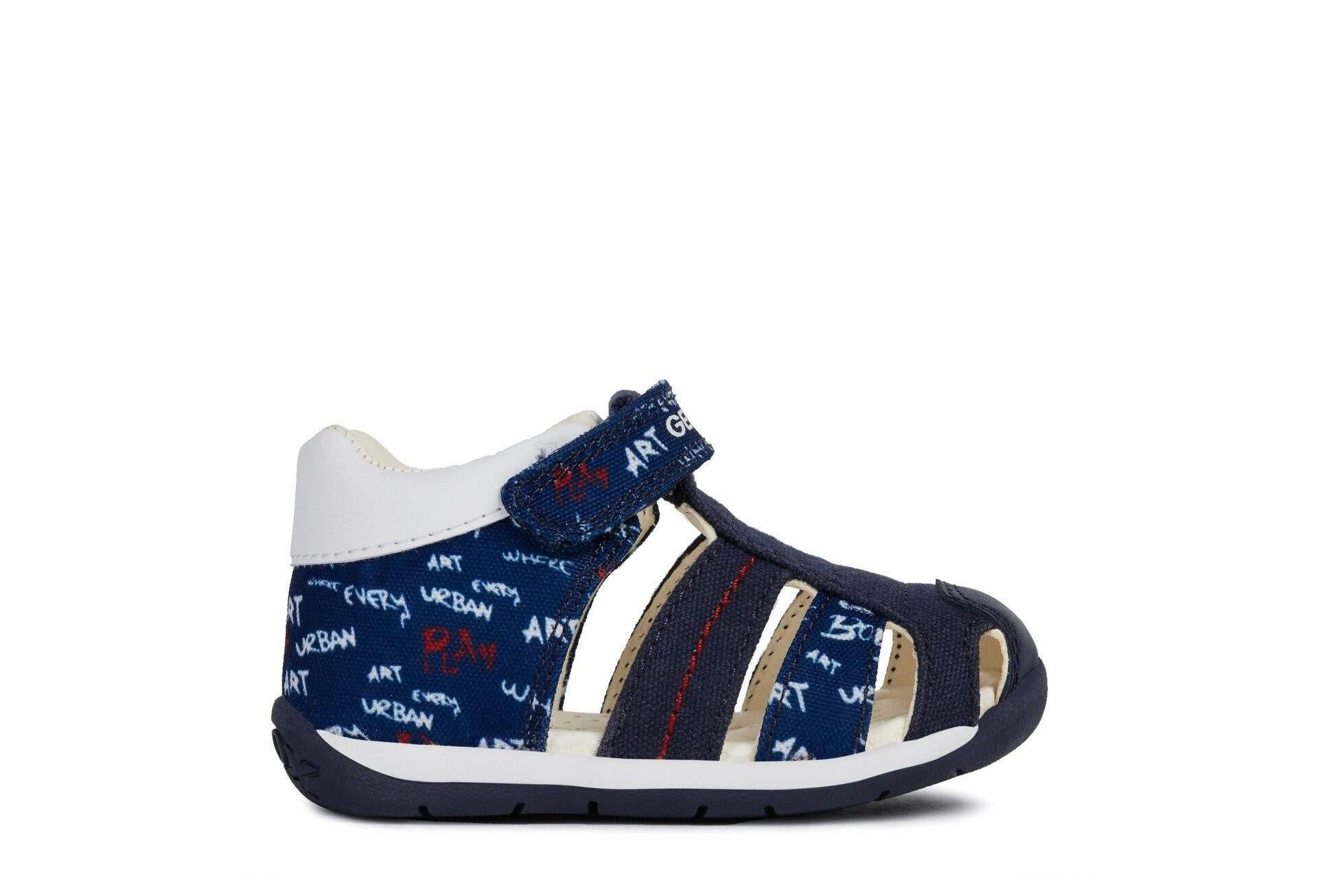 398eb066ea Geox Baby EACH Boys Leather Sandals / Infant / Toddler - shoekid.ca