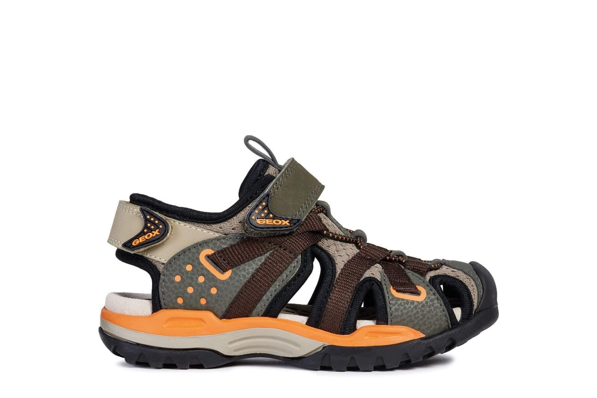 Geox BOREALIS Boys Water Friendly Sandals / Little Kids / Youth - ShoeKid Canada