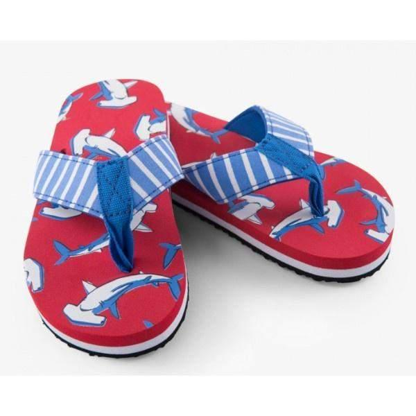 Hatley Whale Flip Flops / Toddler / Little Kids / Big Kids - ShoeKid Canada