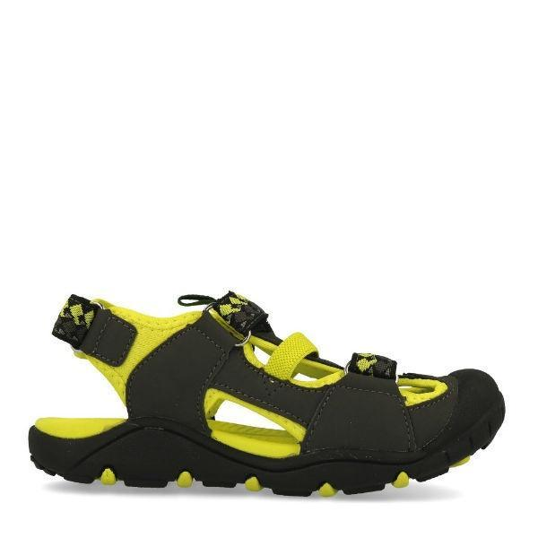 Boys Sandals - Kamik Coral Reef Charcoal / Toddler / Little Kids (Water Friendly)