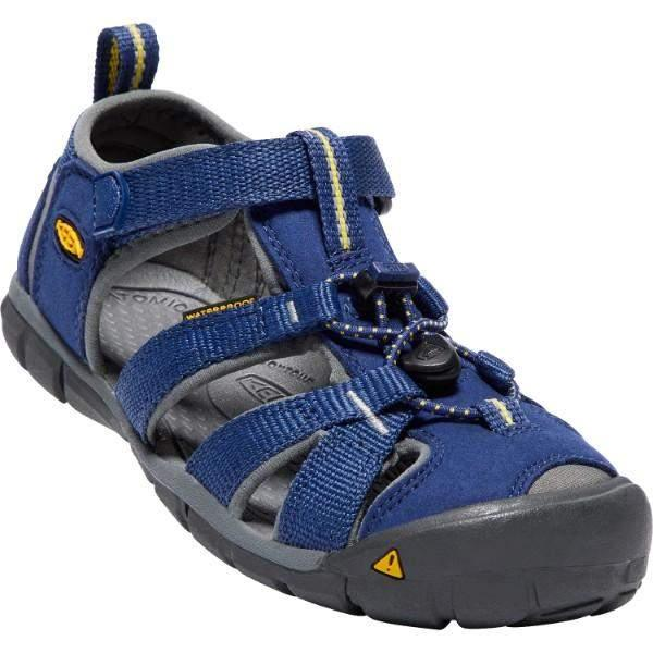 Keen Seacamp II CNX Blue Depths Gargoyle / Little Kids / Youth - ShoeKid Canada