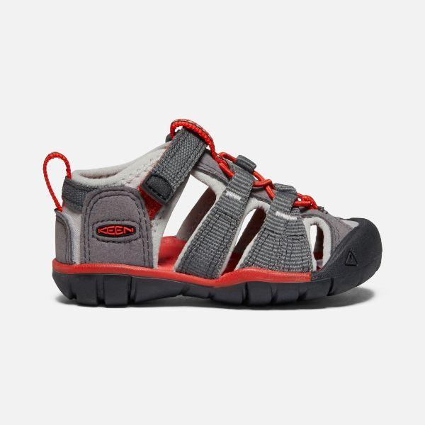 Boys Sandals - Keen Seacamp II CNX Toddler Sandals/ Magnet/Drizzle