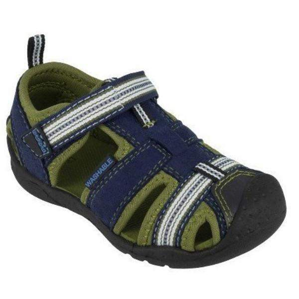 Pediped Sahara Blue Sandals - Machine Washable /Kids / Youth (Fits .5 Long) - ShoeKid Canada