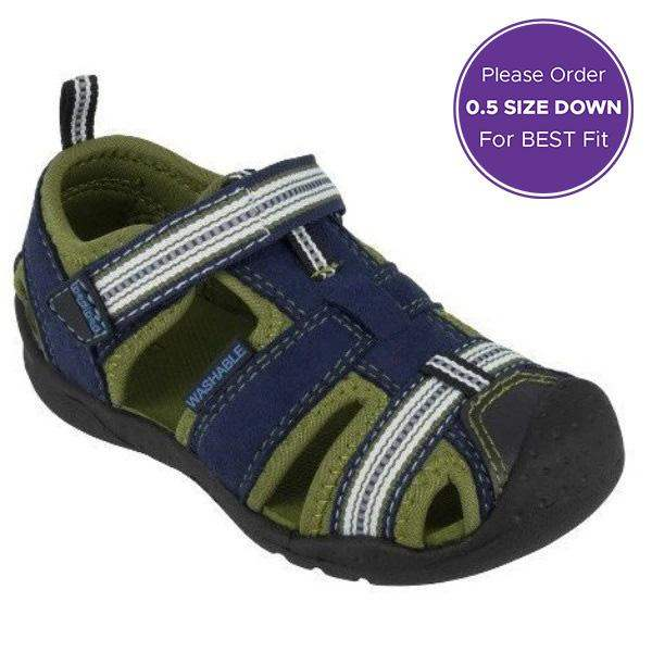 Pediped Sahara Kids Water Friendly Vegan Sandals - ShoeKid.ca