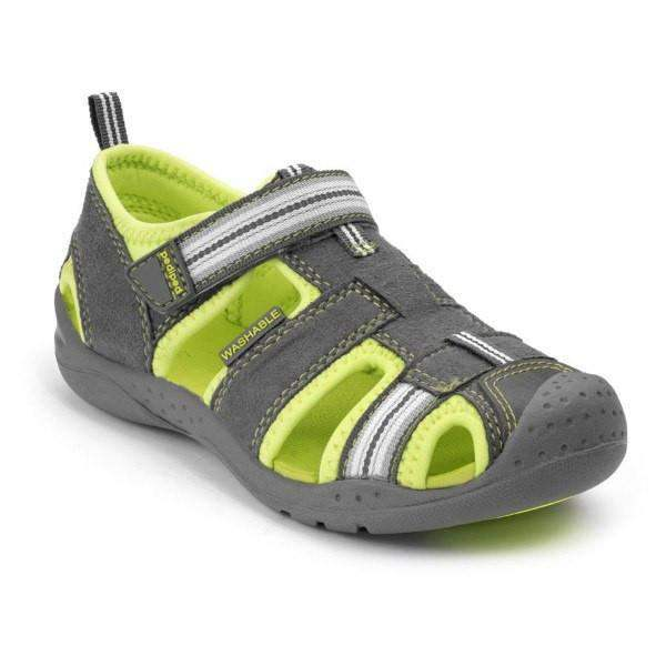 Pediped Sahara Lime / Water-friendly / Machine Washable (Fits .5 Long) - ShoeKid Canada