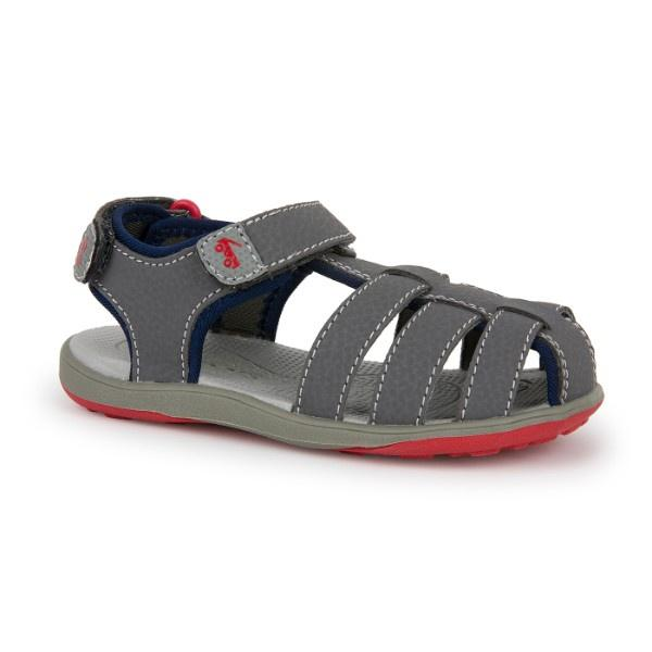 See Kai Run - Cyrus III Water-Friendly Sandals for Kids, Gray - ShoeKid.ca