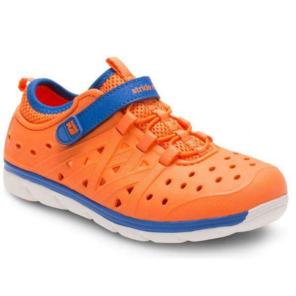 Stride Rite PHIBIAN Orange Water Friendly Sandals - ShoeKid.ca