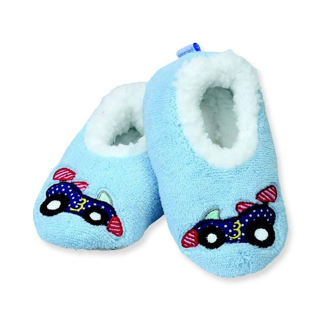 Snoozies Cars Indoor Slippers / Infant / Toddler / Little Kids - ShoeKid Canada
