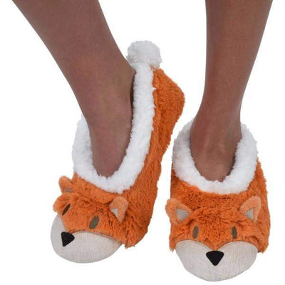 Boys Slippers - Snoozies Fox Indoor Slippers / Toddler / Little Kids