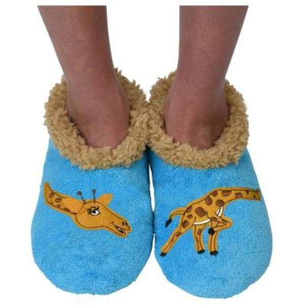 Snoozies Giraffe Indoor Slippers / Toddler / Little Kids - ShoeKid Canada