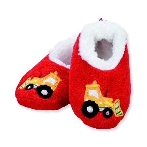 Boys Slippers - Snoozies  Truck Indoor Slippers / Infant / Toddler / Little Kids