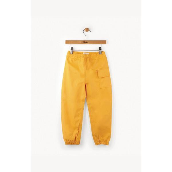 Boys Splash Pants - Hatley Little Boys' Childrens Yellow Splash Pant - 100% Waterproof