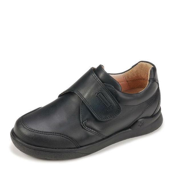 Biomecanics Zapato Boys Leather Uniform Shoes (Toe Guard)
