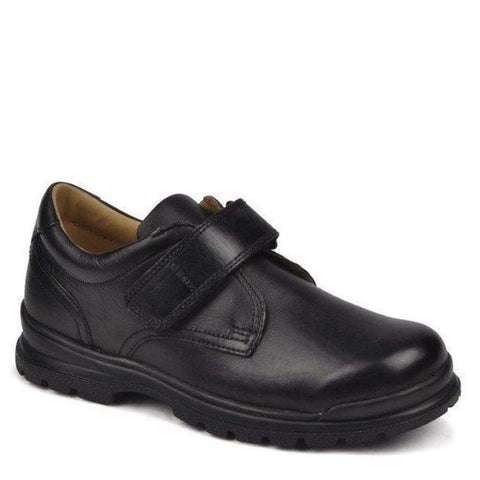 Boys Uniform Shoes - Geox J William Leather Kids Uniform School Shoes