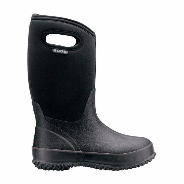 Bogs Classic High Black Winter Boot / Waterproof -30C - ShoeKid Canada