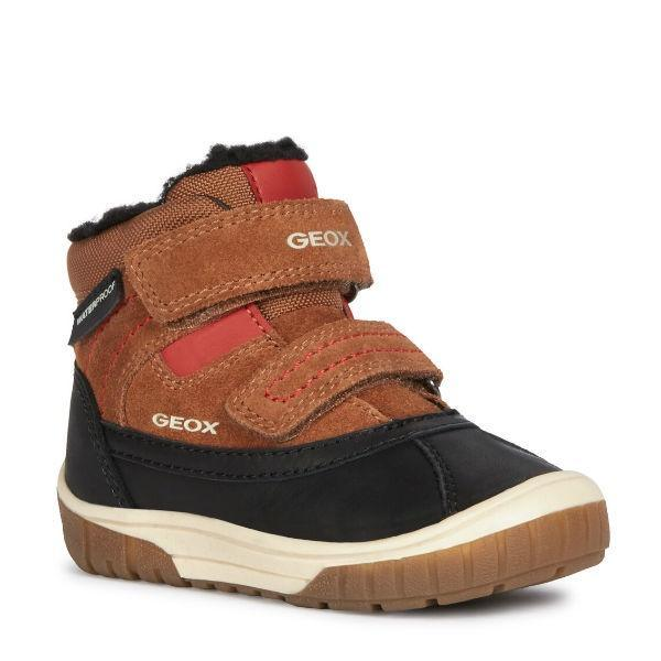 Geox Omar ABX Waterproof Toddler Winter Boots -25C - ShoeKid Canada