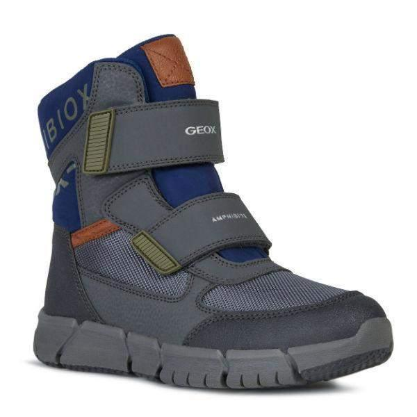 Boys Winter Boots - Geox Kids Flexyper ABX Boys Waterproof Winter Boots -25C