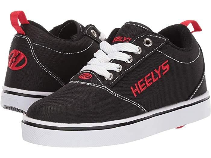 Heelys PRO 20 – Black/White/Red - ShoeKid.ca
